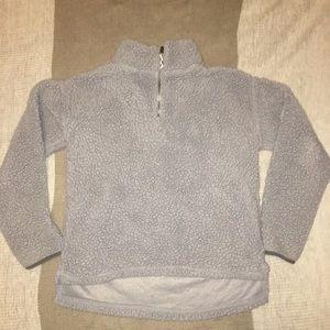 Sweaters - Fuzzy Grey Sweater